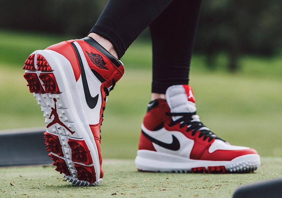 new arrival d2eca 97920  sneakers  news The Air Jordan 1 Golf Shoe Releases On February 10th