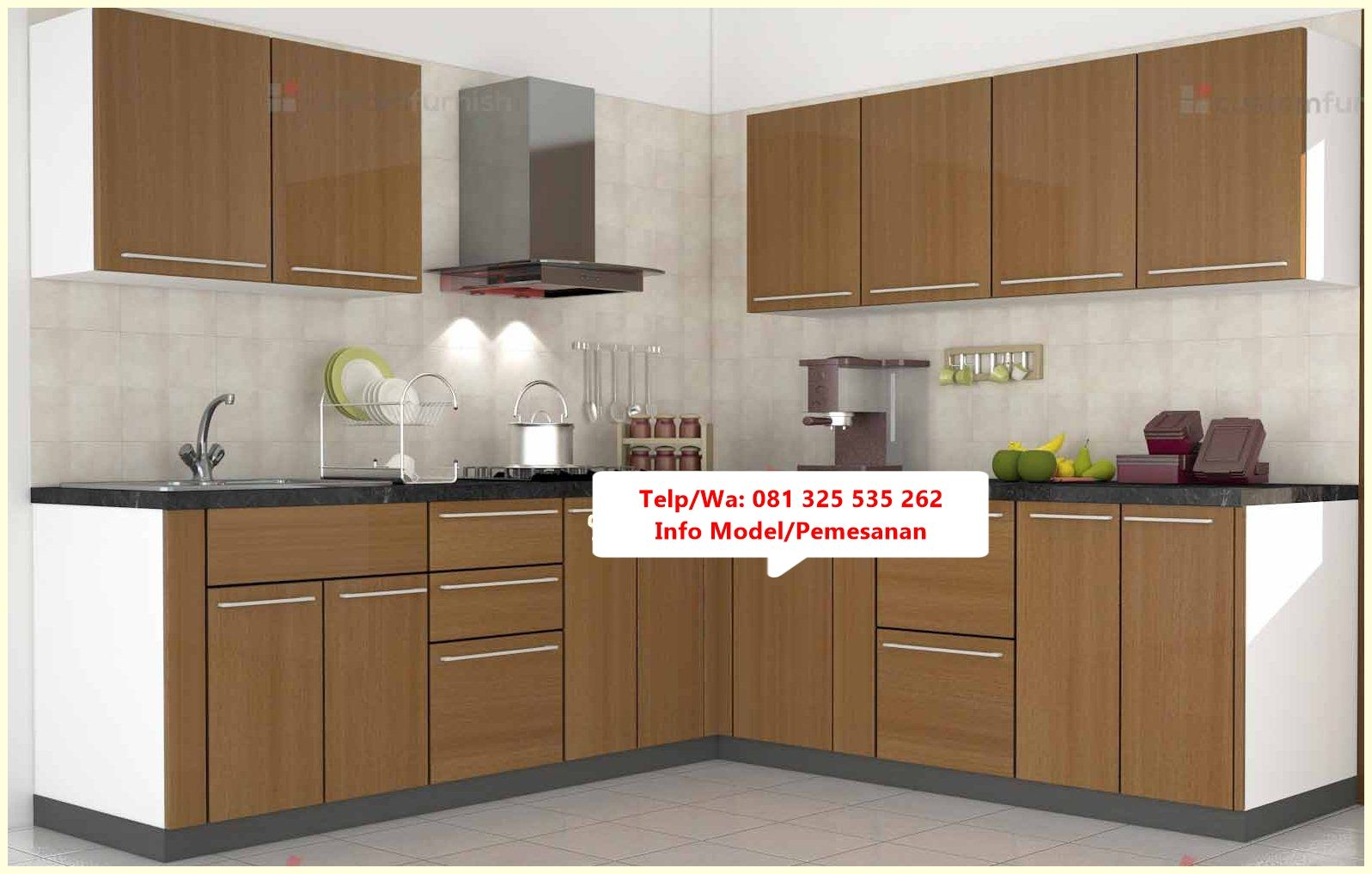 Desain Kitchen Set Jati Minimalis Trend Mo Kitchen Set Jati