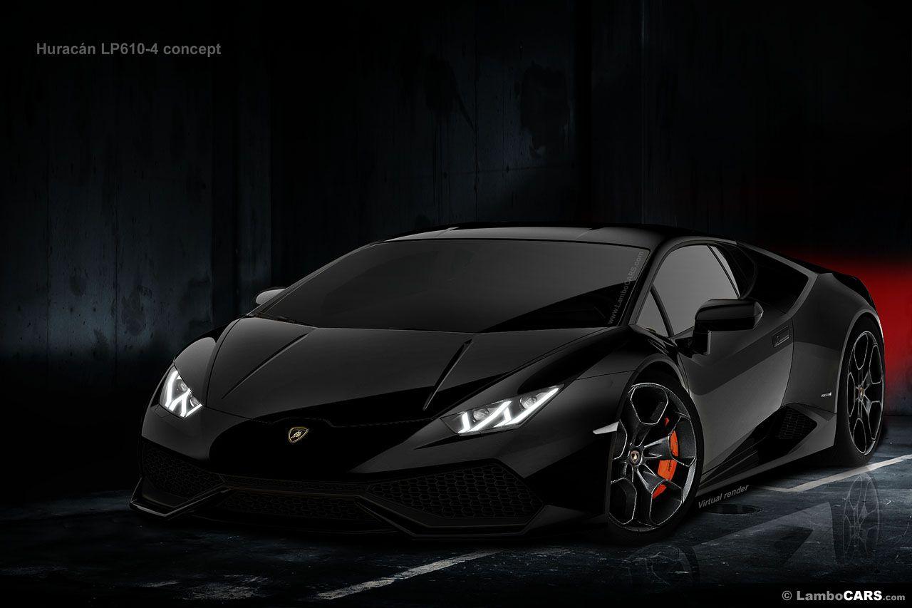 Lamborghini-Huracan-LP610-Black-(Galliardo replacement)