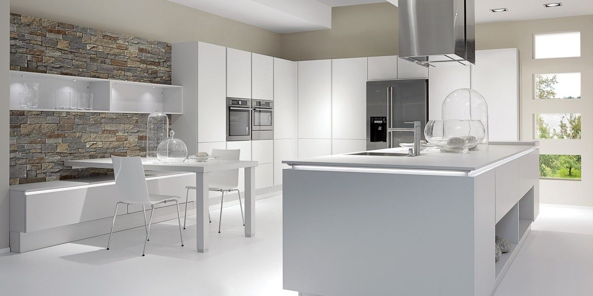 Favourite colour - satin grey matt from nobilia Kitchen - nobilia k chen qualit t