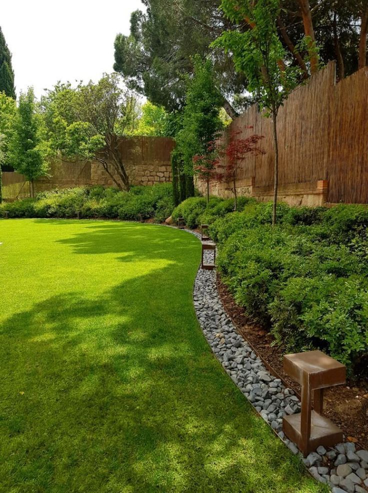 35 Creative Lawn And Garden Edging Ideas With Picture Trend 2018 Creative Pathway Landscaping Small Backyard Landscaping Easy Landscaping