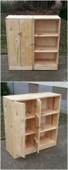 DIY Cheap Storage Made From Pallets (71)