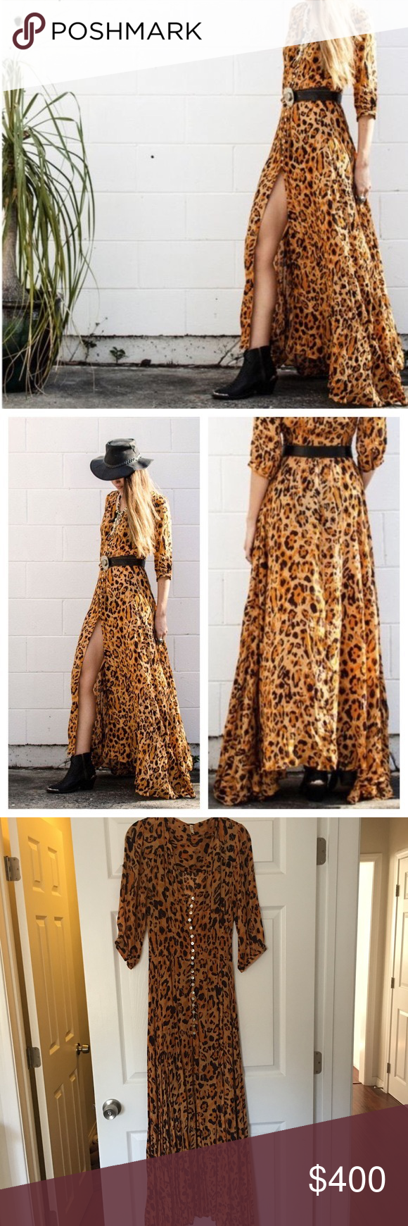 Spell u the gypsy wild ones maxi gown only worn twice great