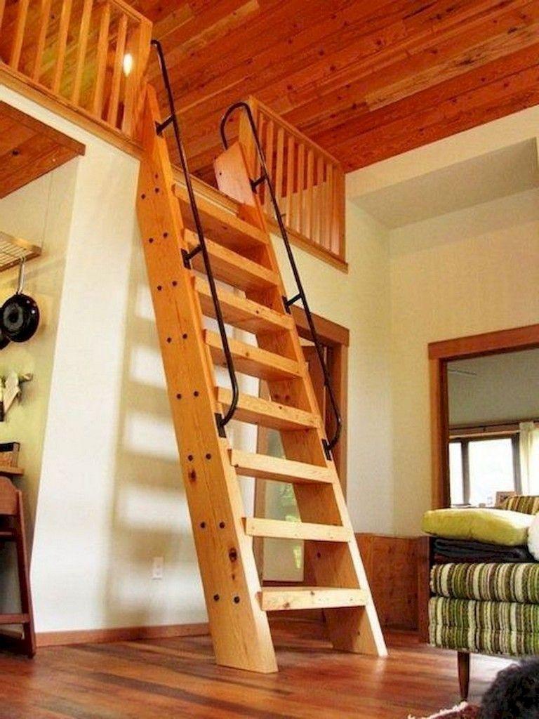 65+ Stunning Loft Stair for Tiny House Ideas