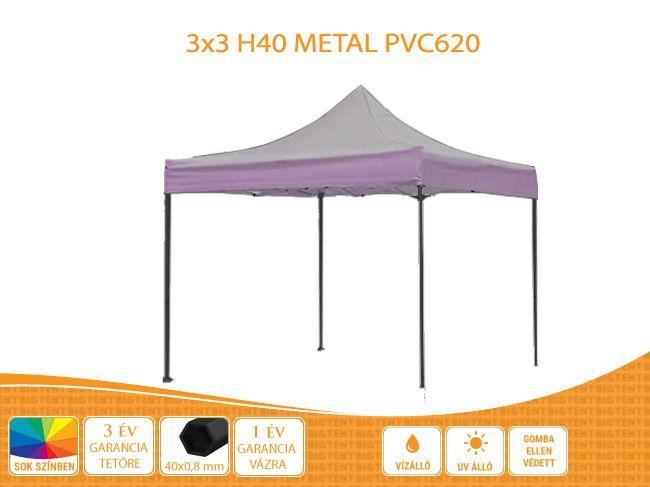 3×3 Metal H40 PVC600