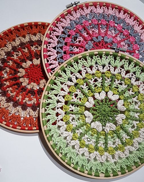 The Windflower Mandala Pattern By Kogi Naidoo Crochet Mandala