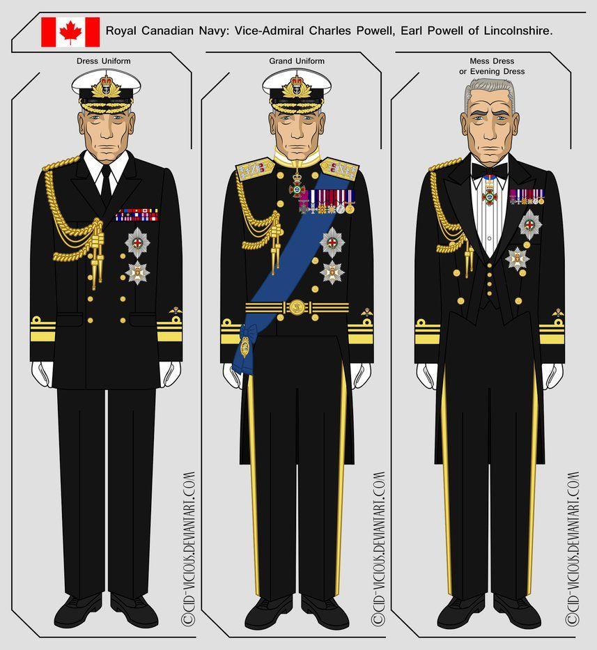 Canadian officer uniform