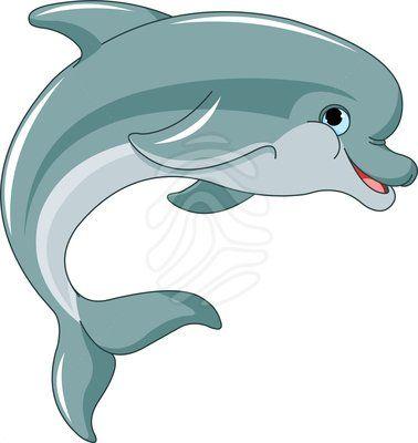 Jumping Dolphin Clipart 83377031 Dolphin Cartoon Dolphin Clipart Dolphin Vector