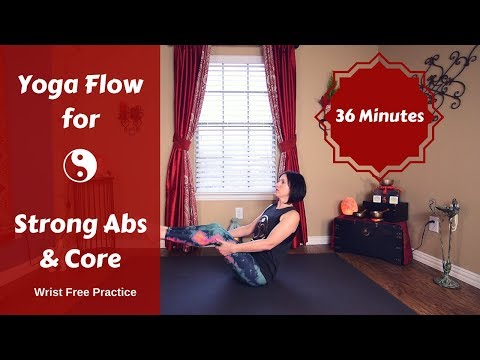 hands free slow flow yoga for core  ab strength  sivana