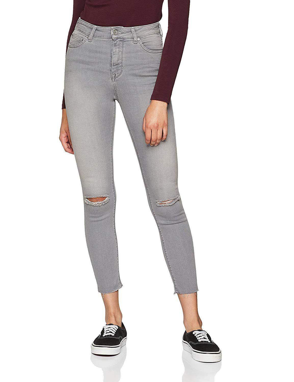 Jetzt bestellen | Damen High Waist Skinny Jeans mit Löchern