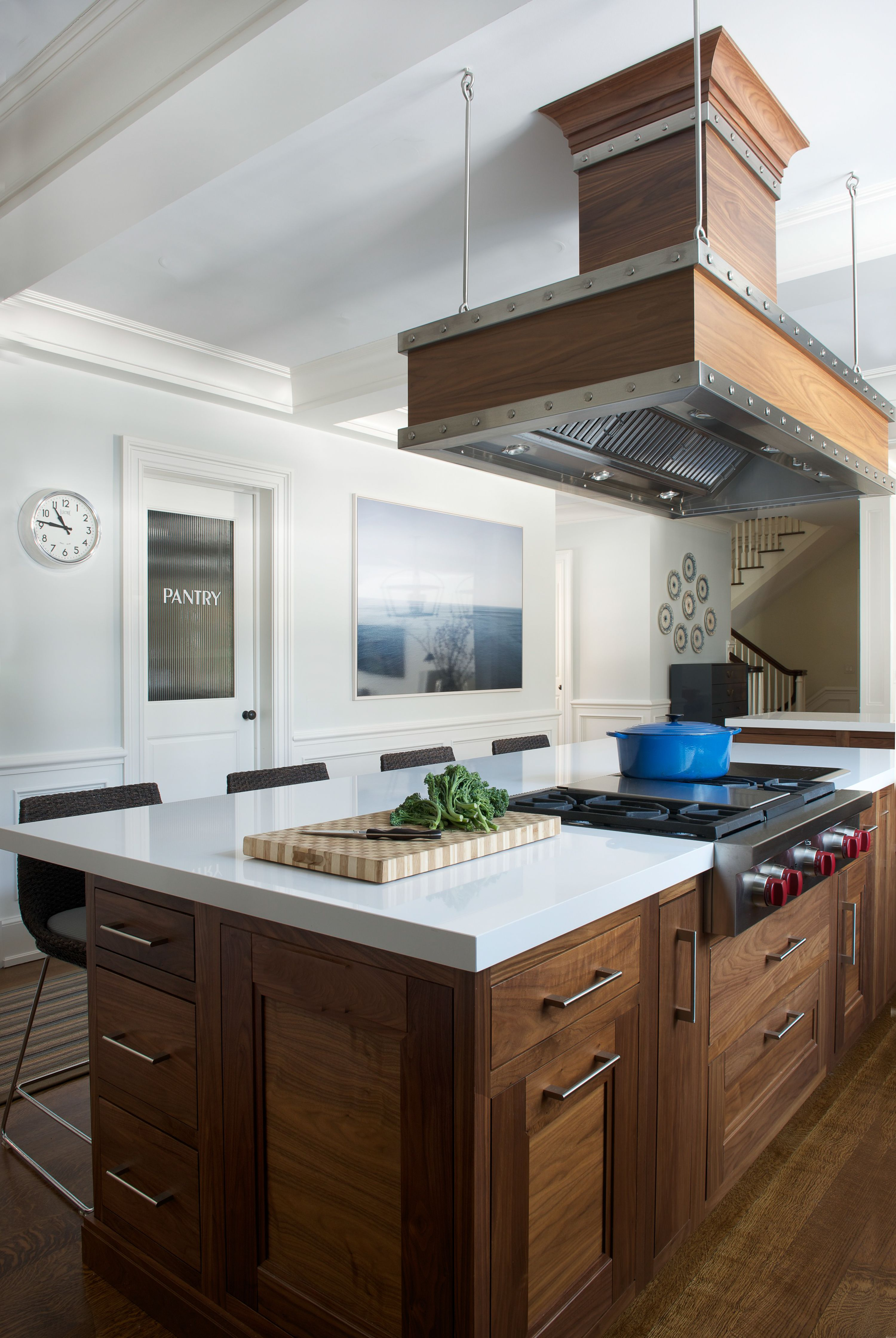 Modern Traditional Estate in 2020 Kitchen