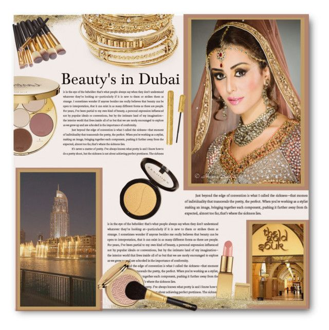 """Beauty's in Dubai"" by fashion-and-beauty-miracles ❤ liked on Polyvore featuring beauty, ABS by Allen Schwartz, tarte, Christian Dior, Sisley Paris, AERIN and Sephora Collection"