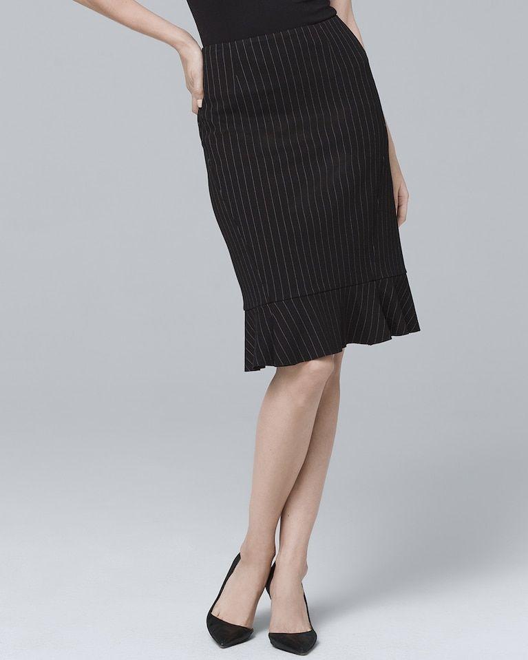 b536fe1da Women's Pinstripe Pencil Skirt by White House Black Market ...