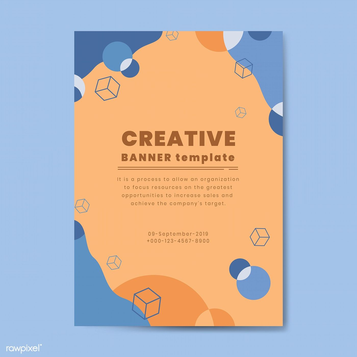 poster template advertising poster