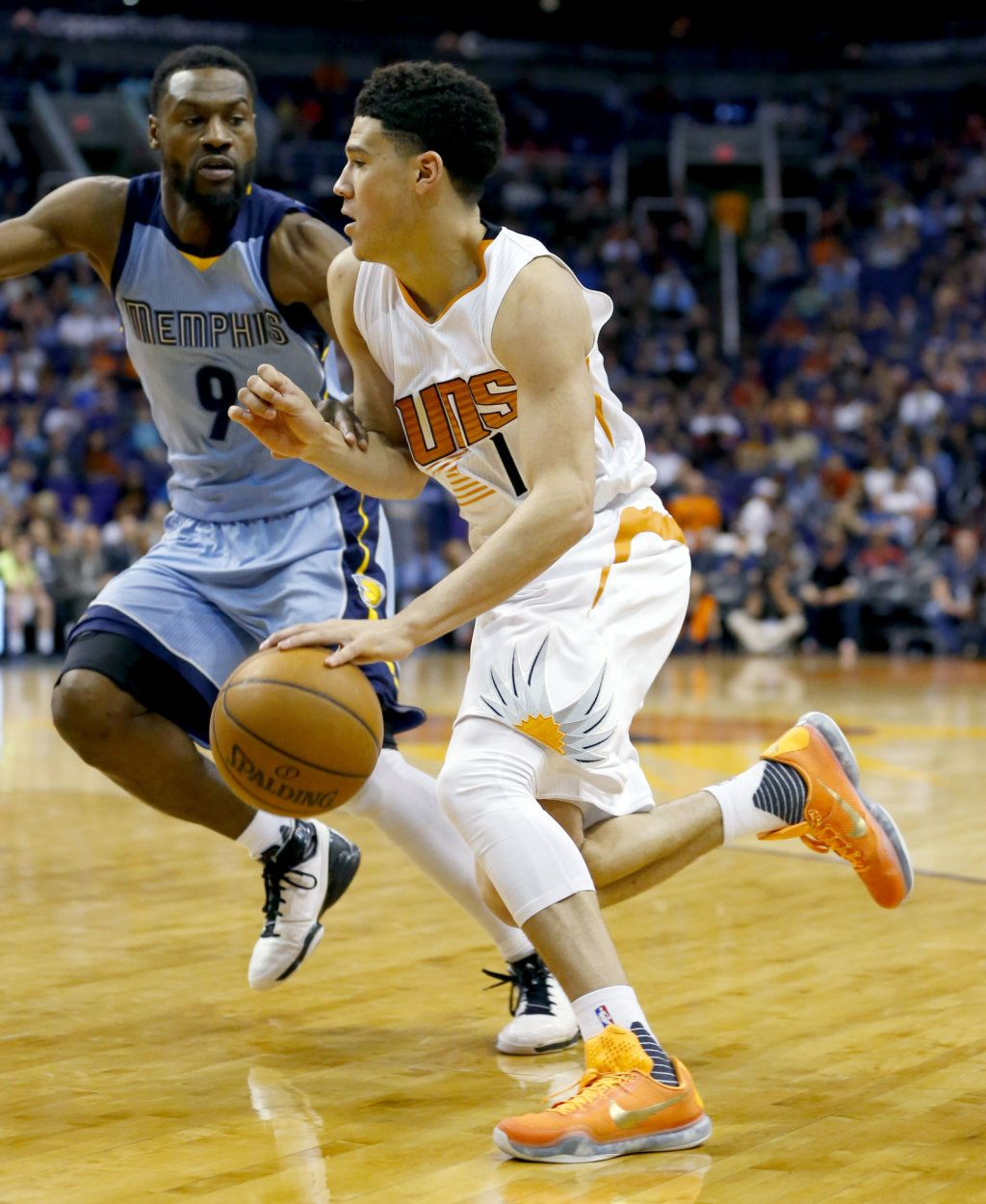 cozy fresh 5daa0 9c515 Devin Booker in the Nike Kobe X | sports shoes | Nike lebron ...