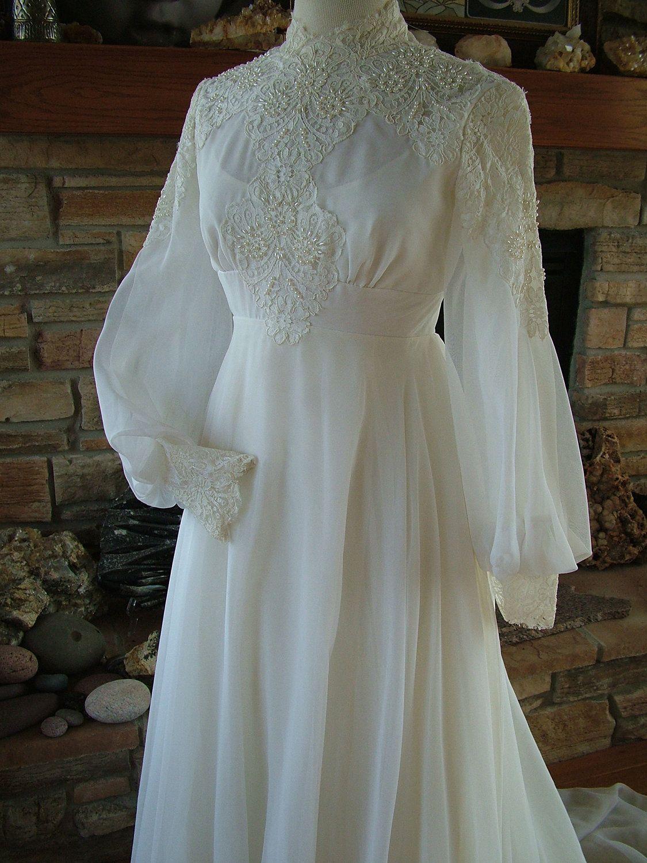 Etsy Vintage Wedding Dress