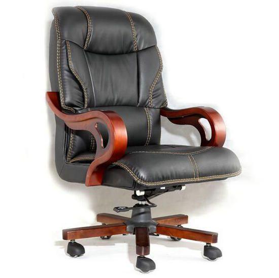 Luxury Recliner Massage Genuine Leather Executive Wooden Office Chair Genuine Leather Office Chair Er Leather Office Chair Office Chair Wooden Office Chair