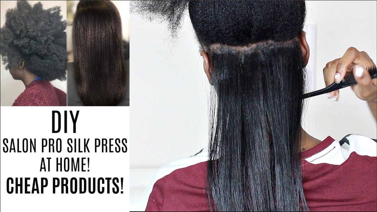 How To Do A Silk Press On 4g Natural Hair At Home Cheap Testing New Fla Flat Iron Natural Hair Flat Iron Hair Styles Natural Hair Styles