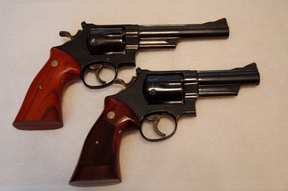 """In 1964 Smith and Wesson introduced their excellent large """"N"""" frame ..."""