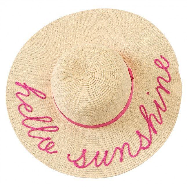 9ab00d38 Hello Sunshine Children's Sun Hat | Products | Floppy sun hats, Baby ...
