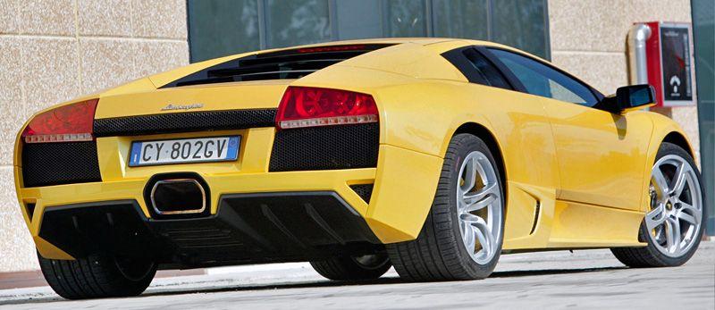 Back Side Of Lamborghini Murcielago Lp640 Lamborghini Murcielago