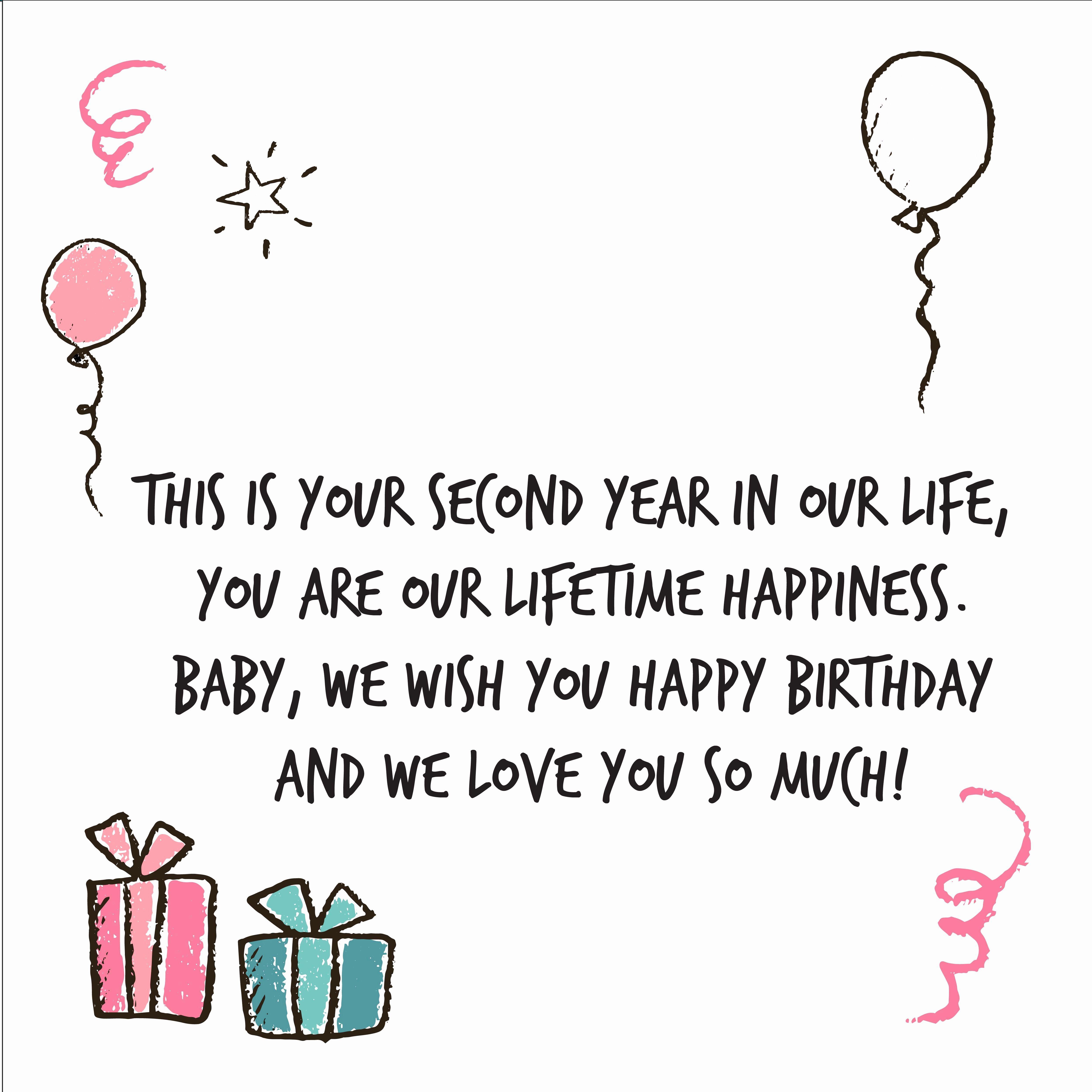 2nd Birthday Wishes Beautiful 2nd Birthday Wishes In 2021 Birthday Wishes For Daughter Wishes For Daughter Happy 2nd Birthday