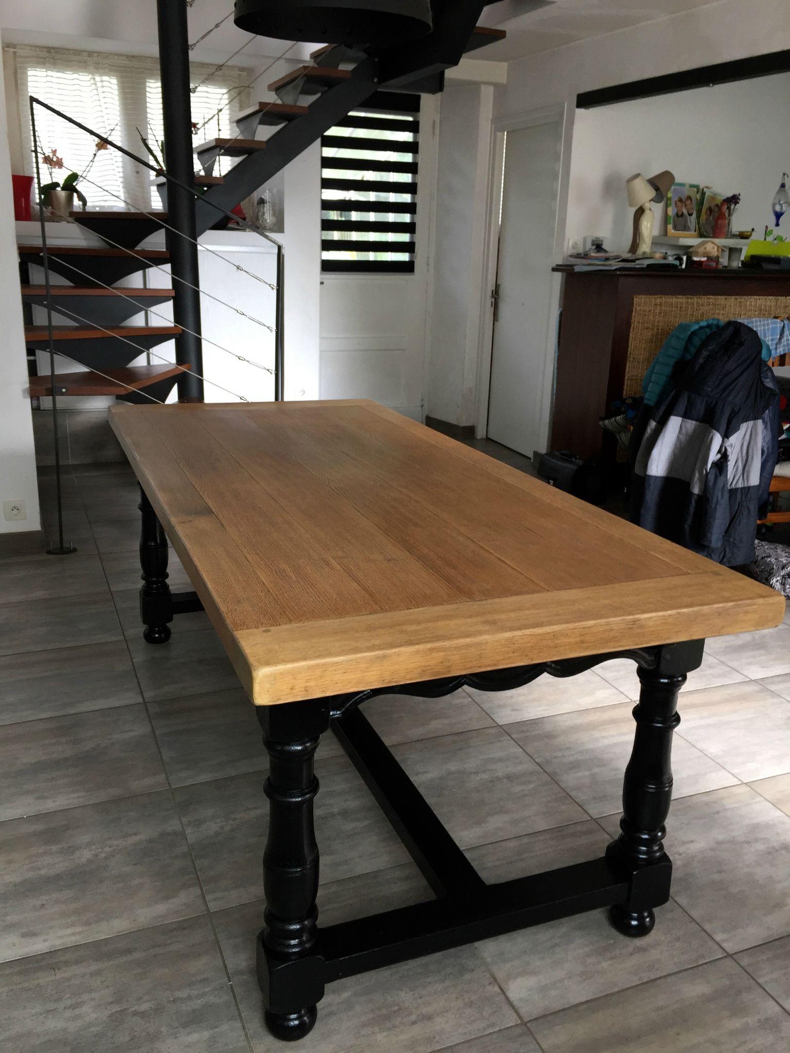 afficher l 39 image d 39 origine renovation salle a manger pinterest table bois mobilier de. Black Bedroom Furniture Sets. Home Design Ideas