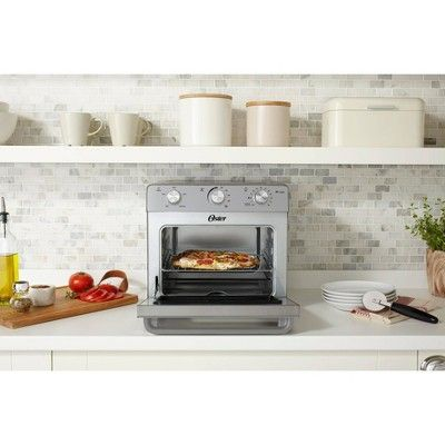 Oster Countertop Oven With Air Fryer Countertop Oven Countertops Efficient Heating
