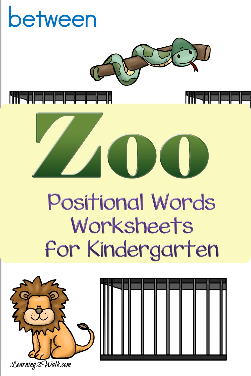 Worksheets Positional Words Worksheets For Kindergarten zoo positional words worksheets for kindergarten teaching young allow your kids to explore these kindergarten
