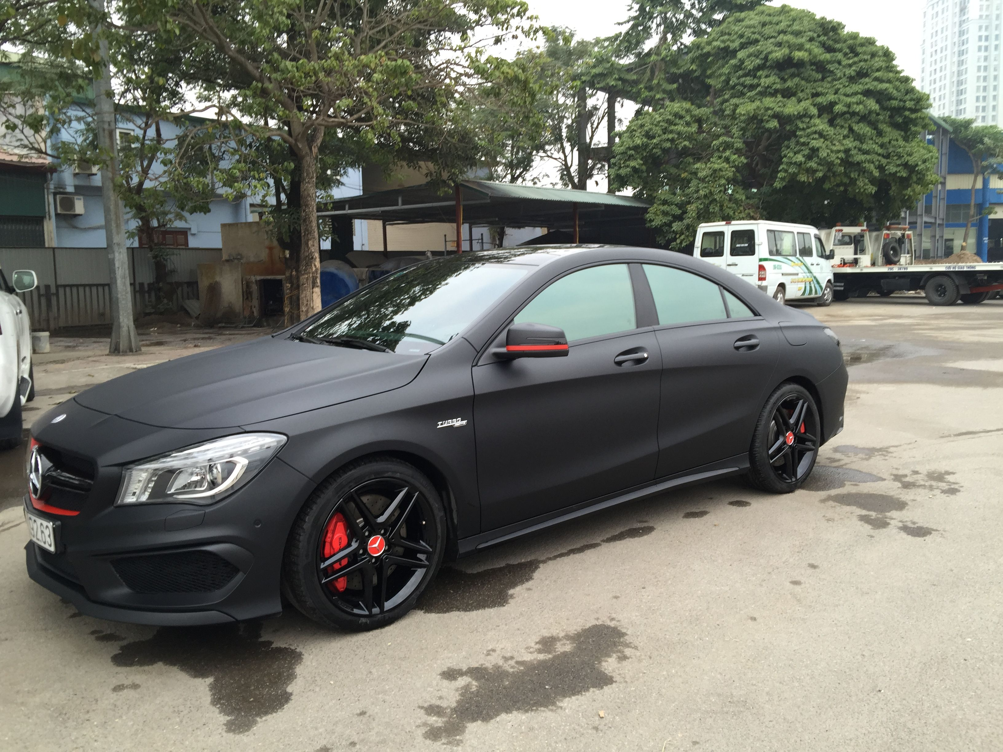 Matt Black Mercedes Cla 250 Dream Cars Amg
