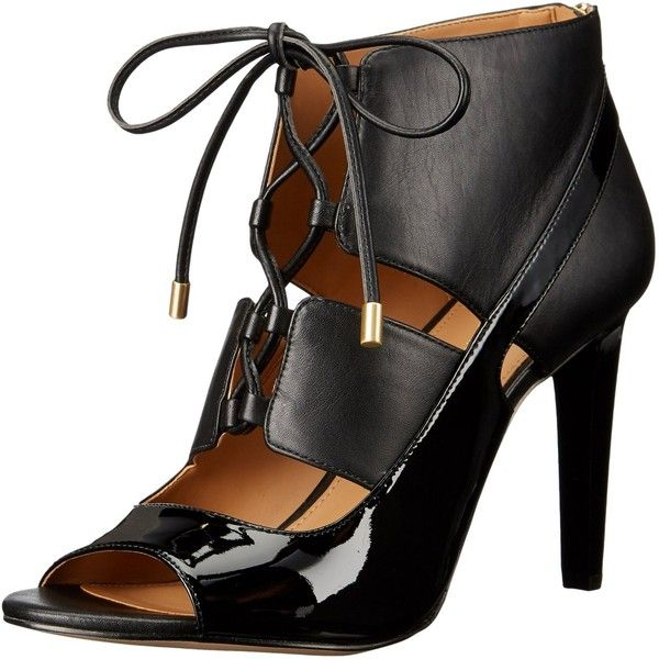 Calvin Klein Collection Leather Lace-Up Sandals purchase sale online ebay for sale s6Uypa5