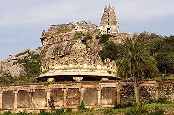 The temple of Yoga Narasimha at Melkote, Karnataka