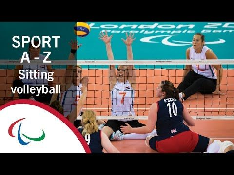 Sport Week Introduction To Sitting Volleyball Sports Volleyball Paralympic Games