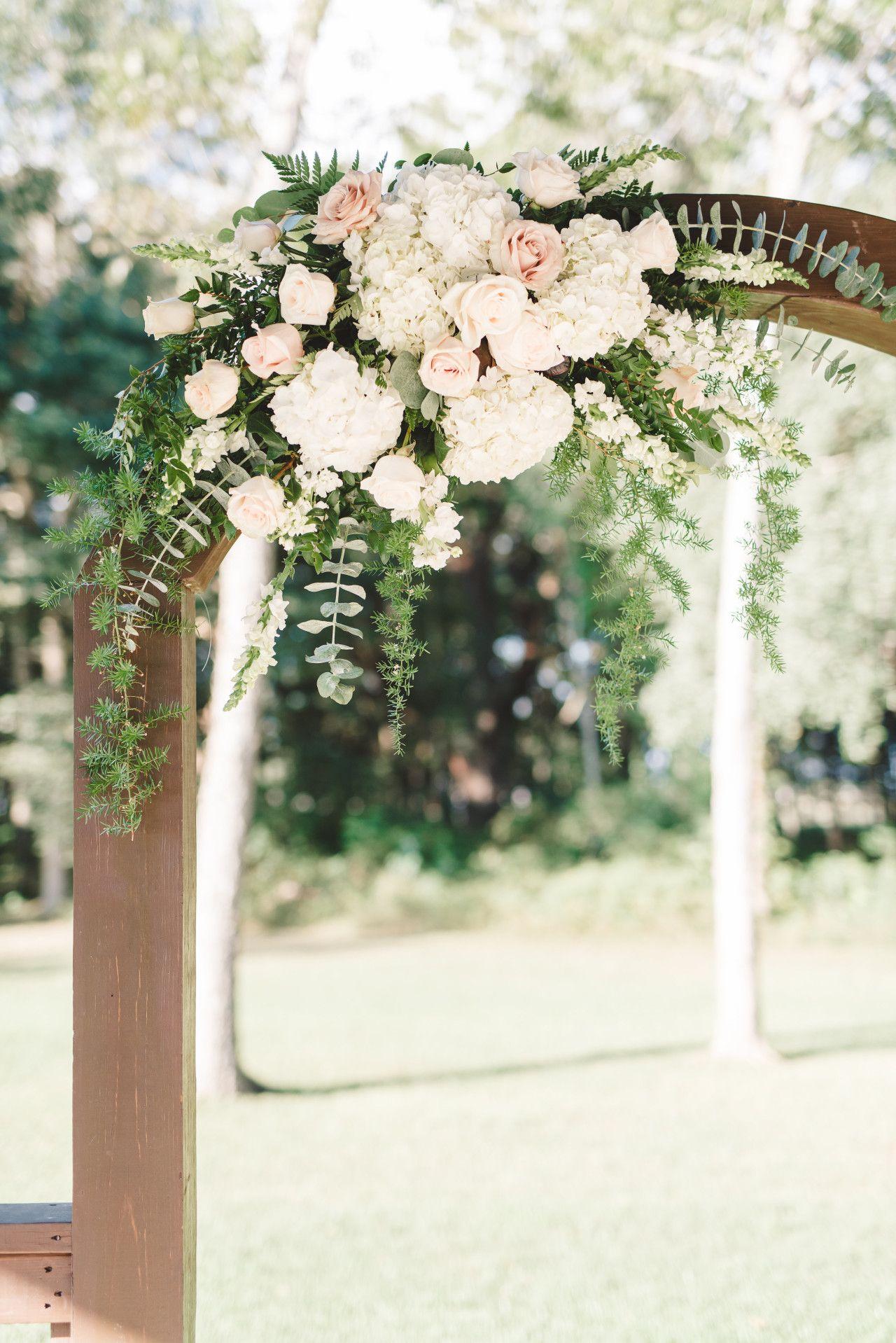 Wedding Arch Decor Blush Pink Wedding Decorations Outdoor