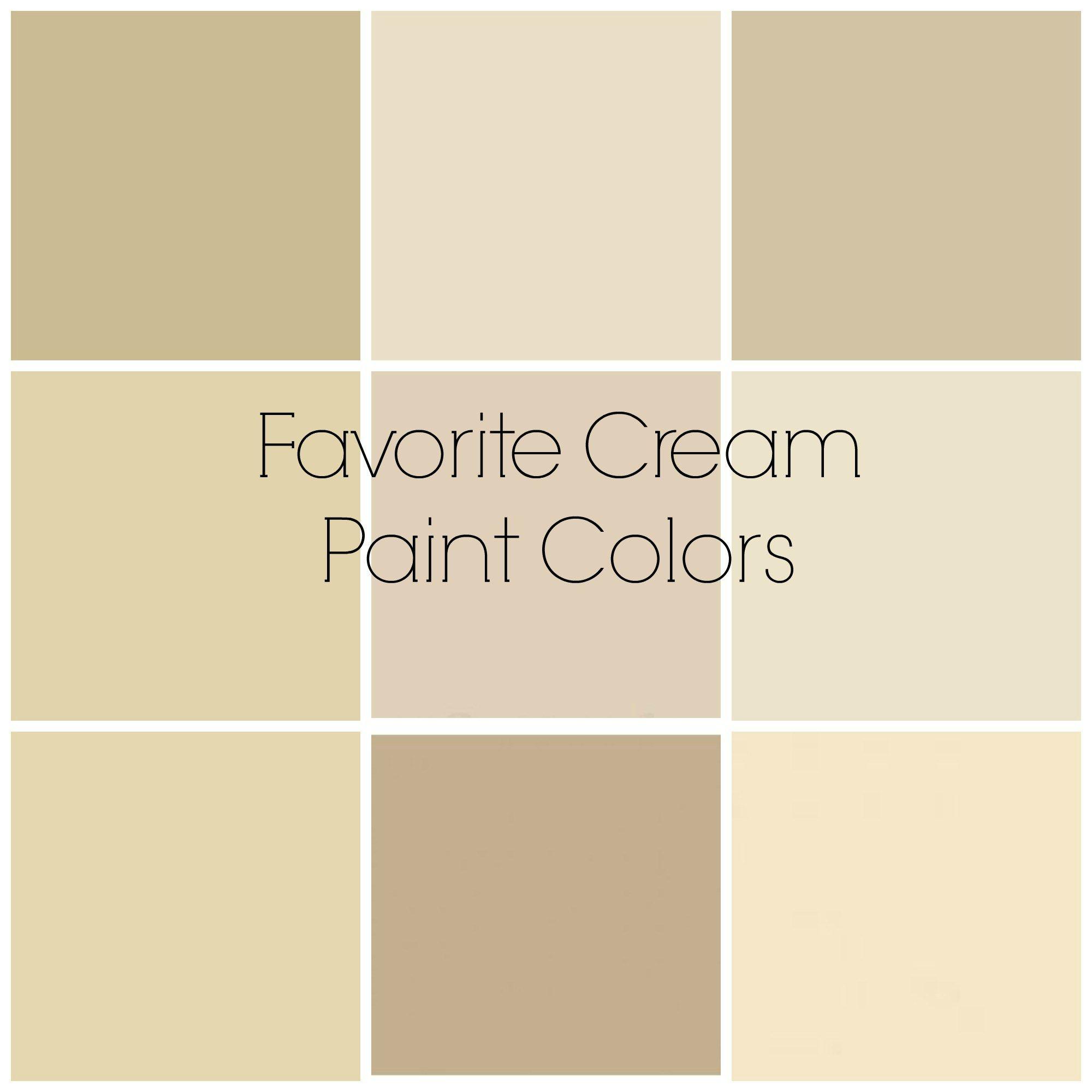 Favorite Cream Paint Colors Ide Cat Kamar Tidur Contoh Warna Cat Warna Cat Cream room paint color
