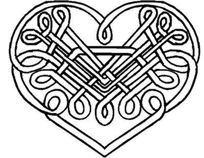 Celtic Clip Art Heart Celtic Knot Heart Tattoo By Kearnold On