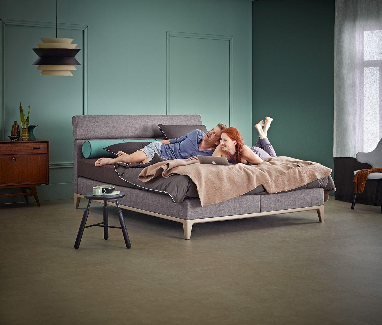 dein pers nlicher geschmack und komfort stehen im vordergrund auping criade boxspring. Black Bedroom Furniture Sets. Home Design Ideas