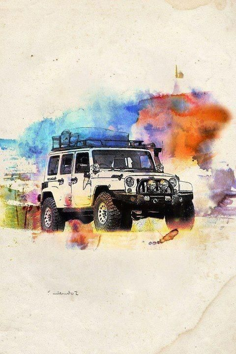 Reposted By Dr. Veronica Lee, DNP Depew/Buffalo, NY, US. JEEP Wrangler ART
