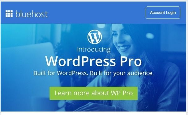 Become a webmaster and earn money with the most opportunities in Webusines - BLUEHOST is one of the