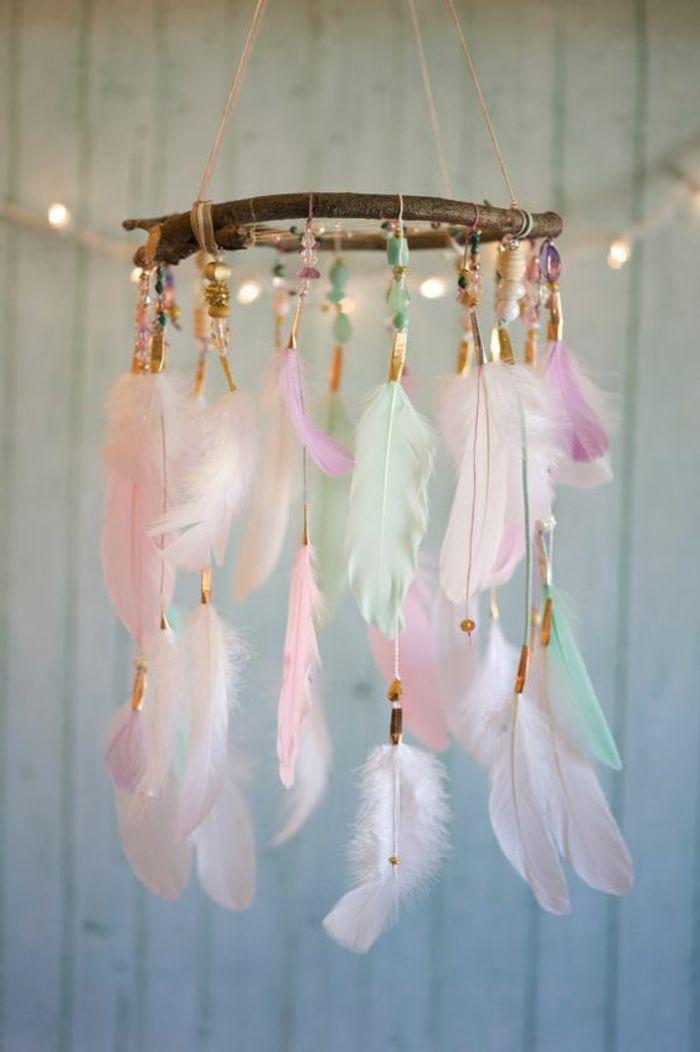 ▷ 1001+ Ideen für Traumfänger basteln - erfahren Sie mehr über die indianische Tradition #selbstgemachtezimmerdeko
