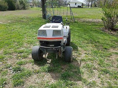 Vintage Sears Craftsman Ff18 Hydrodrive Lawn Garden Tractor Runs