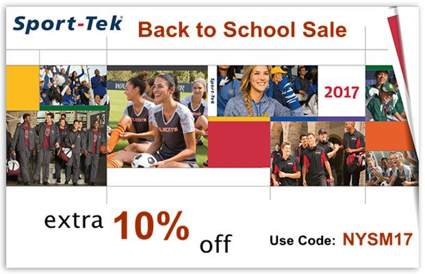 Sport Tek Back to School Sale from NYFifth