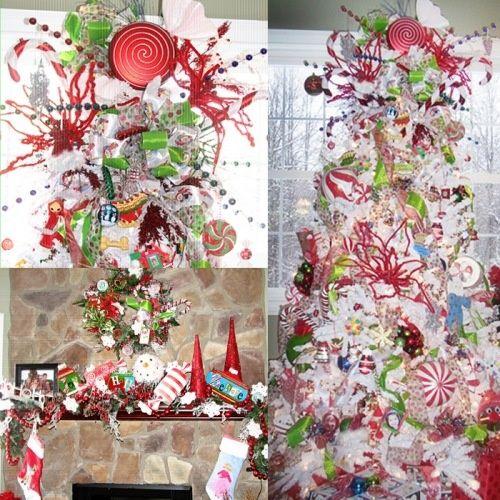 Whimsical Christmas Trees Ideas: Whimsical Christmas Decoration