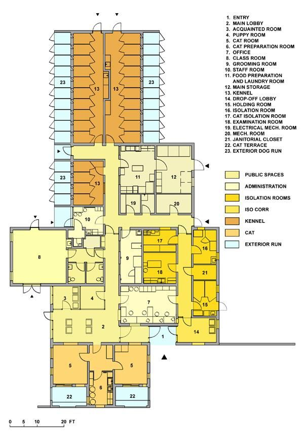 Animal shelters architecture google search animal Dog kennel layouts