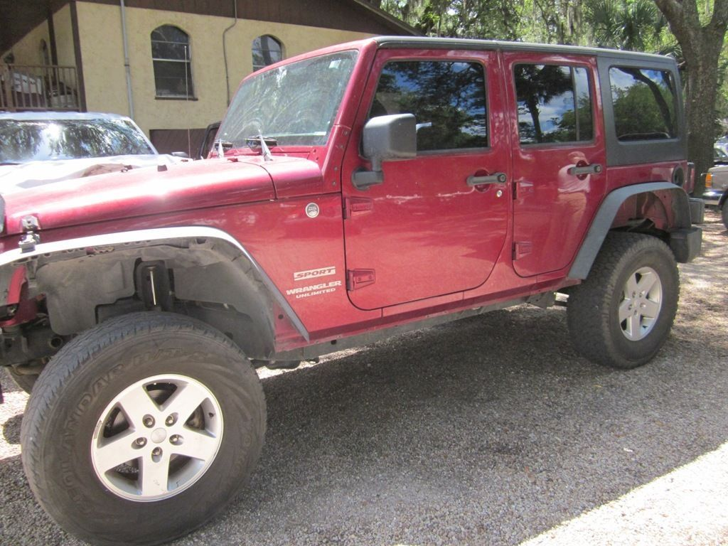 Car brand auctionedJeep Wrangler Unlimited Sport Sport