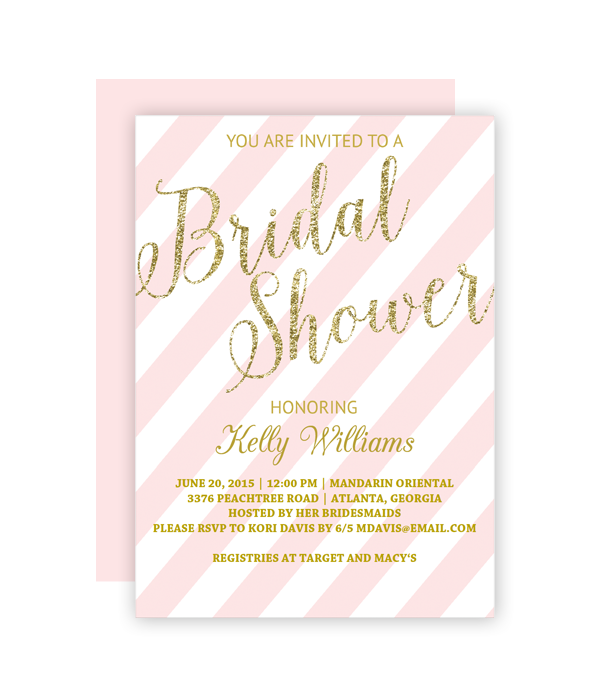 photo regarding Free Printable Bridal Shower Invitation Templates named Pin upon Shannons Marriage Shower