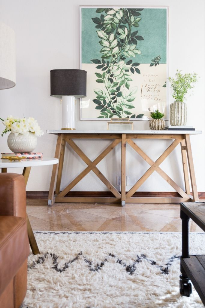 5 Console Table Styling Tips   Lexi Westergard Design