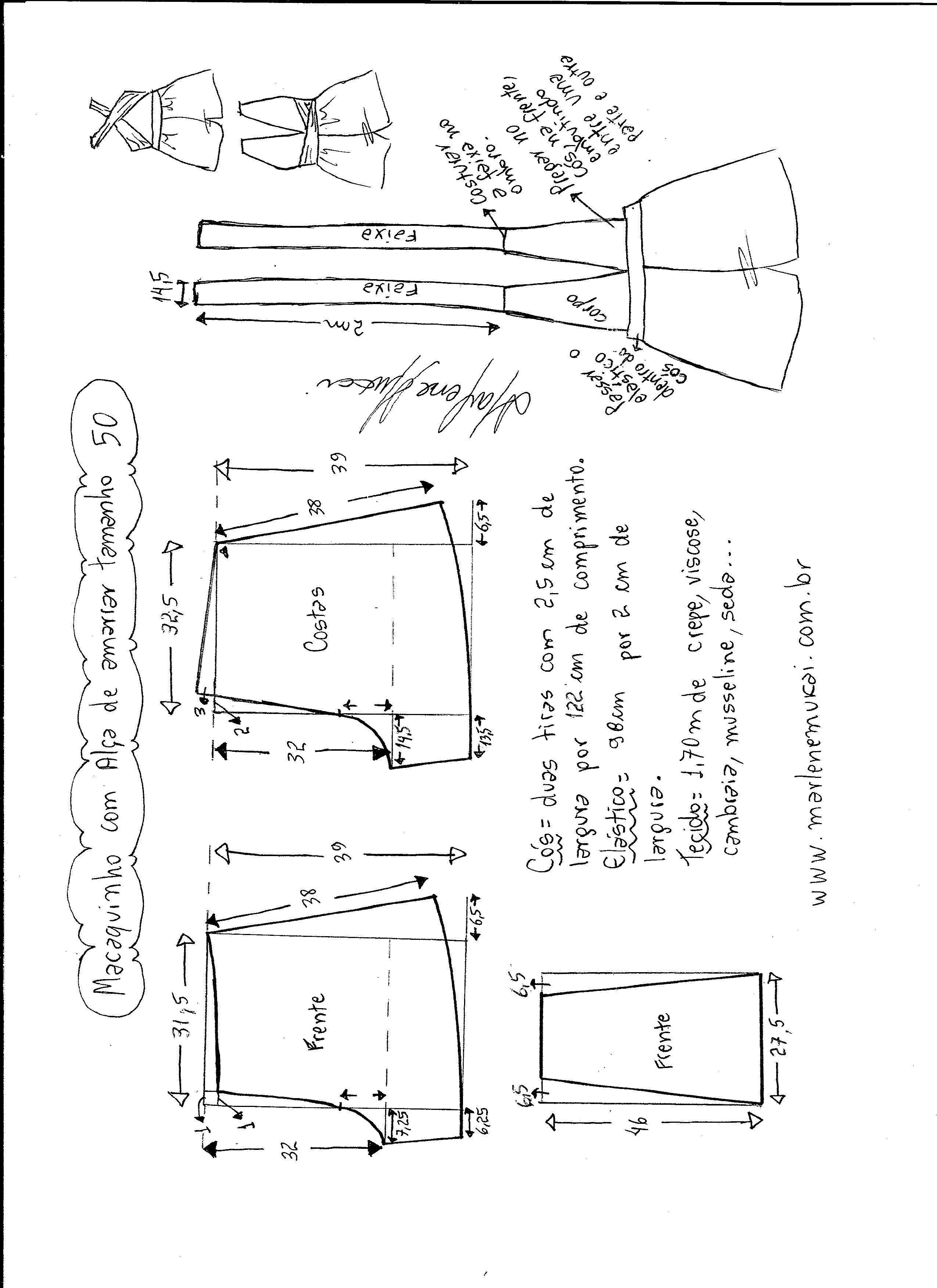 Pin de Deisy Burdiles en costuras | Pinterest | Patrones, Costura y ...