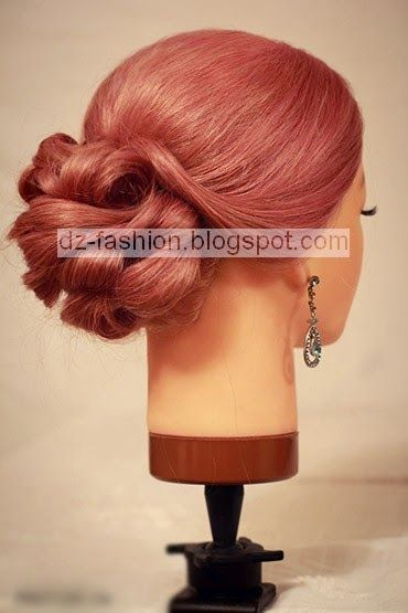 عمل تسريحة شعر بسيطة بالصور Hair Styles Hair Pictures Hair Tutorial