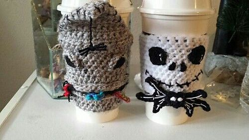 I Crochet A Little On Tight Side So Adjust Hook As Needed I Use H Hook For Cozy And F Hook For Eyes How Tie Is Crochet Mug Cozy Crochet Patterns